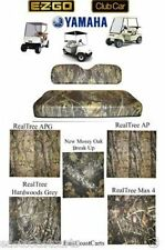 EZGO, Club Car, Yamaha Golf Cart Camo Camouflage Cordura Seat Cover Set