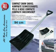 Heavy Duty Telescopic Large Snow Shovel Spade Scoop Car Home Winter Clear