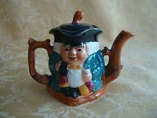 VINTAGE SHORTER & SON TWO FACED TOBY JUG TEAPOT STAFFORDSHIRE ENGLAND