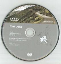 PAS DE UK!!! --- AUDI RNS-E navigation Disc DVD 2/3 Sat Nav Map 2017 FRA GER ITA