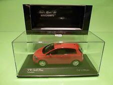 MINICHAMPS 54300 VW VOLKSWAGEN GOLF PLUS 2005 - RED 1:43 - EXCELLENT IN BOX