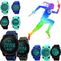 Fashion Men LED Waterproof Digital Quartz Military Luxury Sport Date Wrist Watch