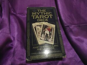 OOP RARE VHTF MYTHIC TAROT CARDS DECK ONLY BOXED. HARDLY USED.