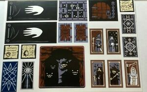 Custom Stickers Decal for Lego Set 10237- The Tower of Orthanc