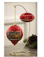 Family Traditions Red Christmas Ornament Terry Redlin  Retired