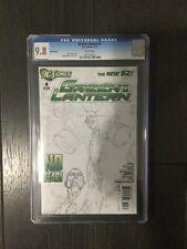GREEN LANTERN # 4 SKETCH 1:200 / The new 52! / CGC Universal 9.8 / Feb 2012
