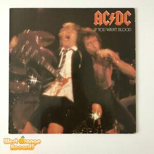 AC/DC, If you want blood you've got it,, Atlantic vinyl LP, K50232  EX/NM