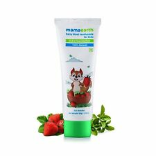 Mamaearth Berry Blast Toothpaste For Kids   100% Natural   12+ Month   50 Gram