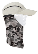 Seirus Quick Shade Shanty with Pull-Down Sundana 4 in 1 Hat Cap Adjustable