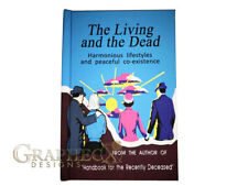 The Living and the Dead inspired personalized hardcover notebook