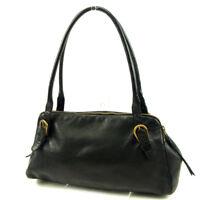 miumiu Shoulder bag Black Woman unisex Authentic Used T4591
