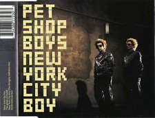 Pet Shop Boys - New York City Boy (CD, Single, Enh CD - 5761