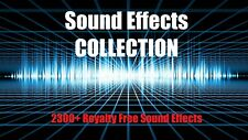 Sound Effects Sample Pack Collection – 2305+ Royalty Free Sound Pack