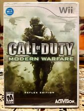 Nintendo Wii Game Call of Duty Modern Warfare (Super Low Price!)