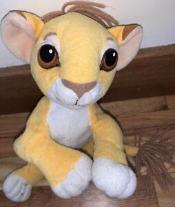 VTG Mattel SIMBA Plush Original Disney The Lion King Rare Yarn Mane Stuffed 90's