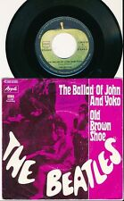 "THE BEATLES 45 TOURS 7"" GERMANY THE BALLAD OF JOHN AND YOKO"