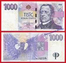 CZECH REPUBLIC 1000 Korun 2008 Pick 25  UNC