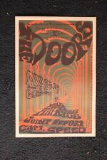 The Doors 1967 Poster Santa Barbara