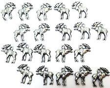 Twenty (20) Pewter Moose Charms -0089