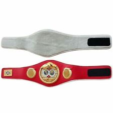 IBF Boxing Championship replica belt adult size metal plates
