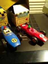 Vintage Tri-ang Scalextric Lot 3 cars C-58-C67-C66-Cooper-Lotus -Cooper With Box