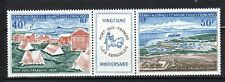 French Southern & Antarctic Territory Sc C24-25 NH Strip Port-aux-Francais 1971