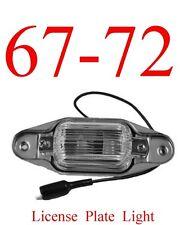 67 72 Chevy License Plate Light GMC C/K Truck Suburban Blazer Jimmy