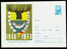 1973 AGVPS-Romanian Fishing & Hunting Association 25 Y.,Deer,Trout,Romania,cover