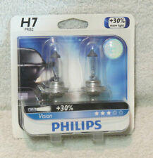 Philips Vision 30% H7 55W Two Bulbs Head Light Low Beam - Replace Plug Play Lamp