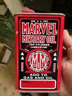 Vtg Marvel Mystery Oil 1 Quart Can Metal No Barcode Early Rare Full Unused Orig