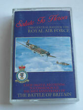 Salute To Heroes - The Central Band Of The RAF - Cassette Tape, Used Very Good