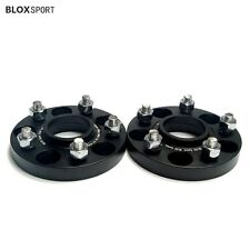 Custom 4Pc 20mm 5x108 to 5x120 Wheel Spacers Adapters for Volvo Hubcentric Black