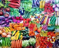 #13 Heirloom Vegetable Seeds 6 Variety Garden Set Emergency Survival NON-GMO WOW