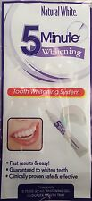 New ! Natural White 5 Minute Gel Tooth Whitening System. Gel With Mouth Tray