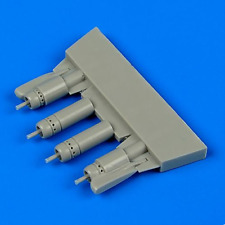 Quickboost 1/48 F4U-5 Corsair Gun Barrels with Pylons for Hasegawa # 48672