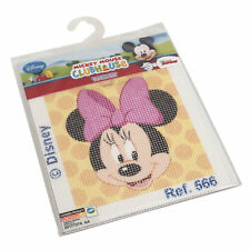 1x Cross Stitch Thread Kits Disney Minnie Mouse Polka Dot Sewing Craft Tool UK
