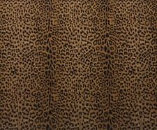 "BALLARD DESIGNS SAFARI BROWN CHEETAH ANIMAL DESIGNER FABRIC BY THE YARD 54""W"