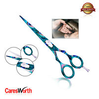 Hairdressing Barber Blue Scissor Razor Sharp Japanese Salon Hair Cutting Shears