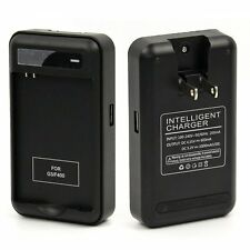 Extra Spare Backup Battery Dock Wall Charger with USB Port for LG G3 F400 D855
