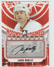 2012-13 ITG MOTOWN MADNESS Jason Woolley AUTOGRAPH CARD SIGNED