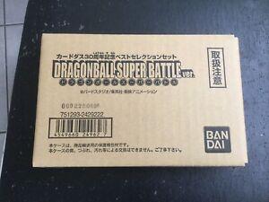 Cartes Dragon Ball Super Battle Ver.neuf.jamais Ouvert.bandai.japan.