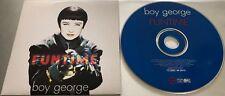 BOY GEORGE Funtime RARE 1995 FRANCE PROMO CARDBOARD CD -CULTURE CLUB David Bowie