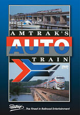 Amtrak's Auto Train DVD NEW PENTREX car train Lorton VA to Sanford FL