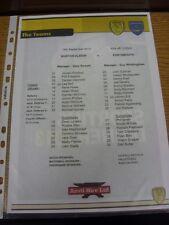 14/09/2013 Colour Teamsheet: Burton Albion v Portsmouth  . Thanks for viewing ou