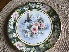 "Collect. Franklin Mint Royal Doulton ""The Rivoli Hummingbird"" Bone China Plate"