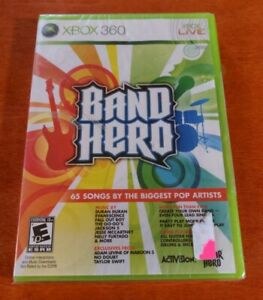 Band Hero Nintendo Wii Activision  Vicarious Visions  Neversoft  Bink Video
