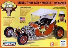 1/16 Lindberg 72320,  Bull Horn Ford Model T Hot Rod, Plastic Model Kit