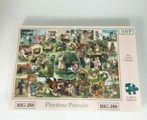 Hop House Of Puzzles Playtime Pursuits 250 Big Piece Jigsaw Puzzle Used Complete
