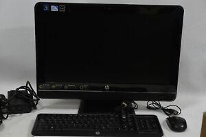 "HP Omni 200-5320a All-in-One Desktop PC Computer - 21.5"" Pentium E5800/4GB/1TB"