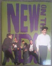 New Kids On The Block Tour Programme & 3 Tickets Dec 1991